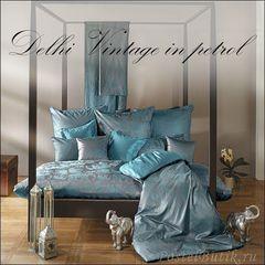 Постельное белье 2 спальное евро Curt Bauer Delhi бирюзовое