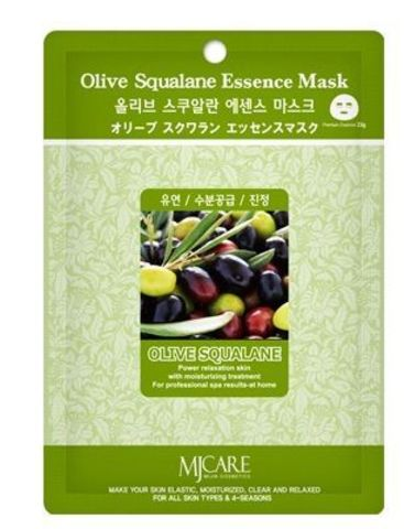 MIJIN Essence Маска тканевая олива Olive Squalane Essence Mask