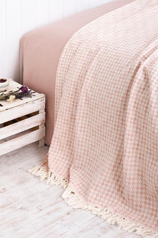 Покрывала Покрывало 220х240 Luxberry Easy Life розовое pokryvalo-luxberry-easy-life-rozovoe-portugaliya.jpg