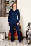 Женская пижама из вискозы Le Chat