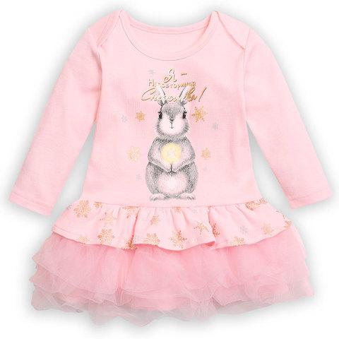 Pelican GFDJ1087 Платье для девочек розовое
