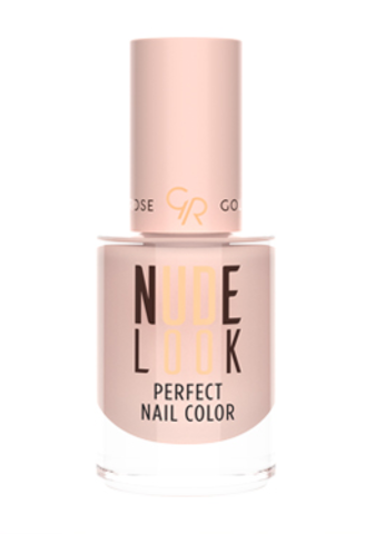 Golden Rose Лак для ногтей  NUDE LOOK PERFECT NAIL тон 01