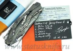 Нож CKF Кастом RELICT BAT Десептикон-1 А.Коныгин