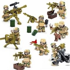 Минифигурки Военных Спецназ Пустынная униформа серия 288
