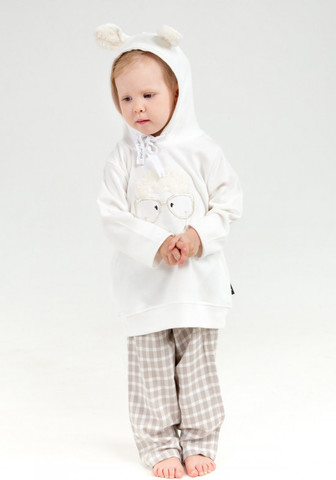 Домашний костюмчик для девочки с ушками