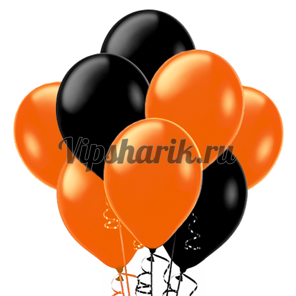 Оранжево-черные