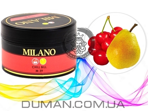 Табак Milano Chill Bill M39 (Милано Вишня c Грушей)
