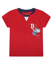 BKT000757 фуфайка детская, красно/темно-синяя