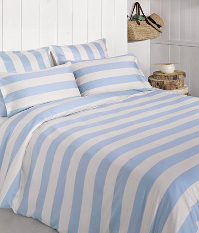Постельное белье 1.5 спальное Bovi Weekend голубое