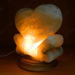 Солевая лампа Сердце большое