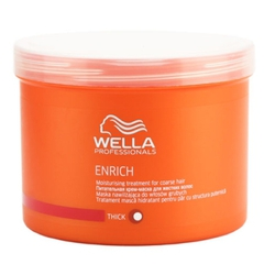 WELLA enrich line питательная крем-маска для жестких волос 500мл.