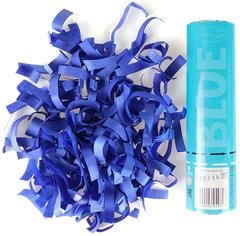 AC 20см Пневмохлопушка Голубое конфетти