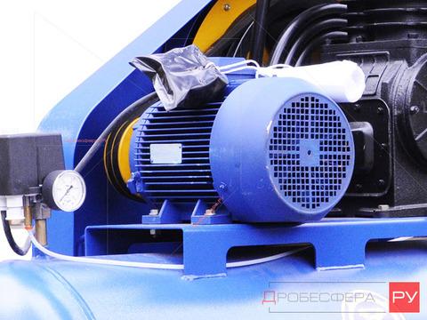 Электродвигатель со шкивом К22