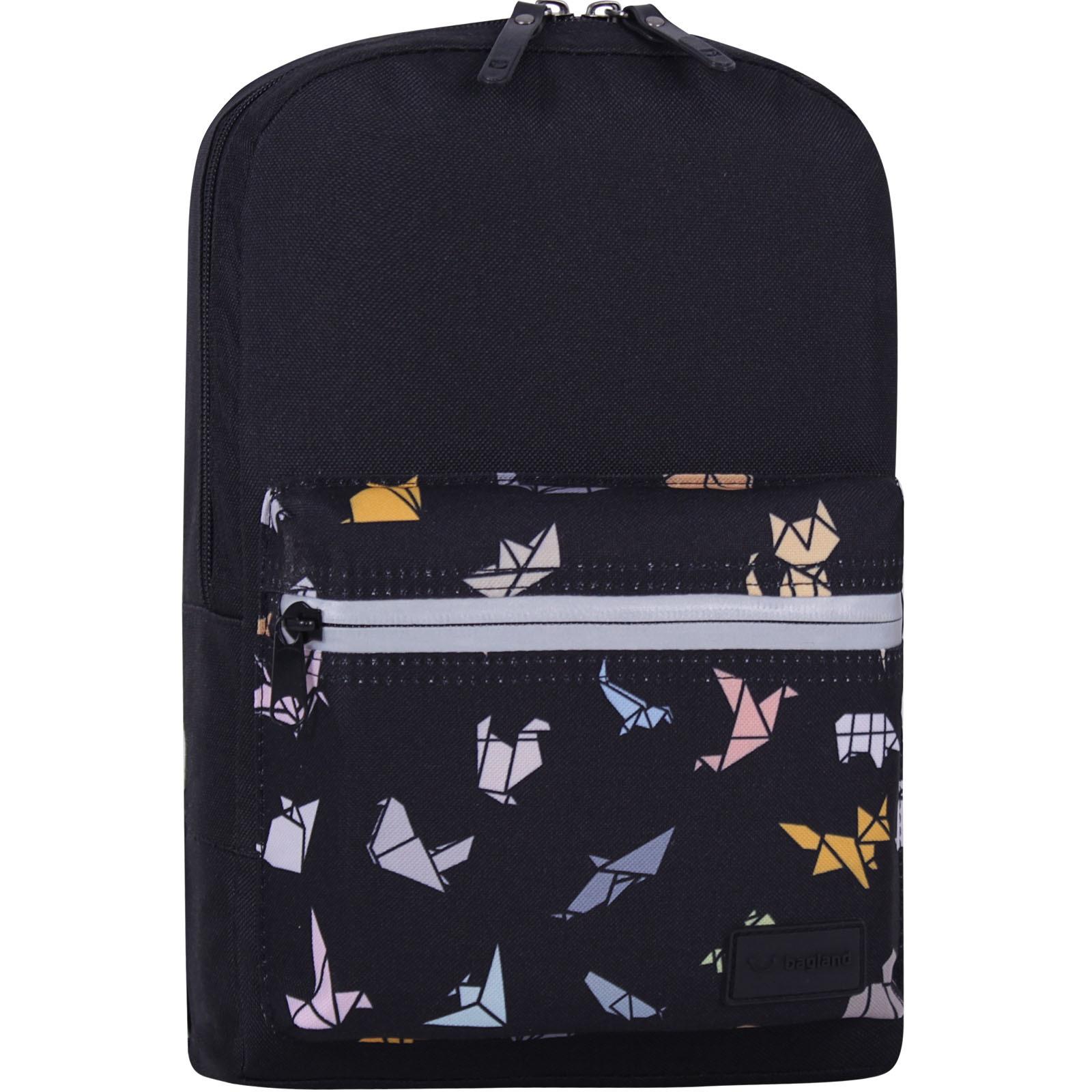 Детские рюкзаки Рюкзак Bagland Молодежный mini 8 л. черный 752 (0050866) IMG_7705_суб752_-1600.jpg