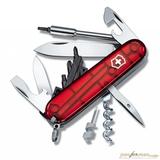 Нож перочинный Victorinox CyberTool 29 1.7605.T 91мм 29 функций полупрозрачный красный