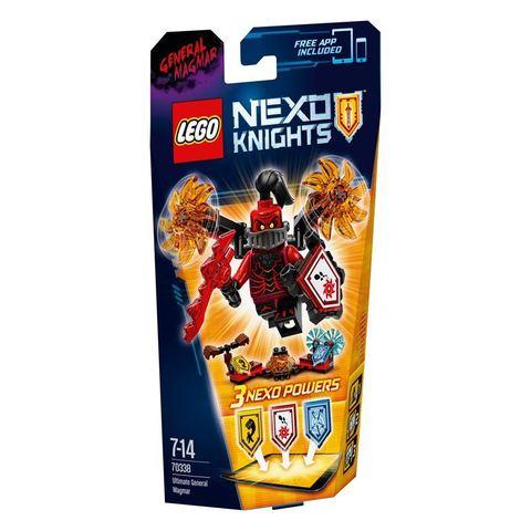LEGO Nexo Knights: Генерал Магмар — Абсолютная сила 70338