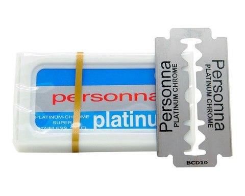 Лезвия для бритья Personna Platinum 10 шт.