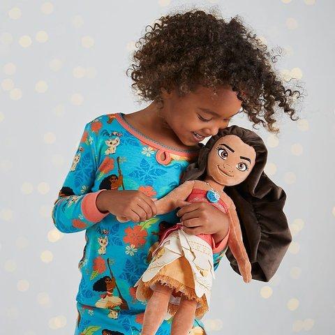 Моана большая мягкая игрушка принцесса Диснея