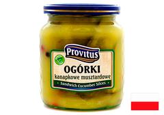Огурцы Provitus Казацкие, 640г