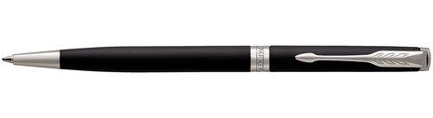 Шариковая ручка Parker Sonnet Slim Matte Black CT123