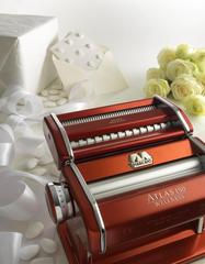 Marcato Atlas 150 mm Design red home-made pasta machine