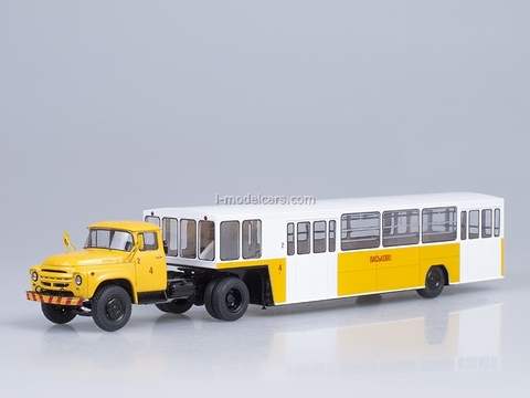 ZIL-130V1 with semitrailer APPA-4 Airport Vaskovo Start Scale Models (SSM) 1:43