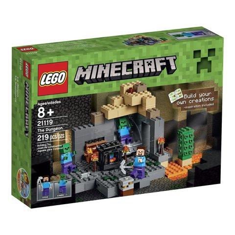 Лего Майнкрафт 21119 Подземелье
