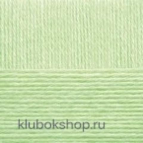 Пряжа Детская объемная (100 г/ моток) Пехорка 41 Салатовый - купить в интернет-магазине недорого klubokshop.ru