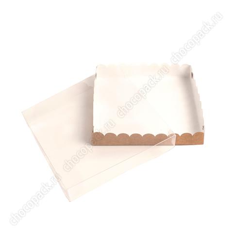 Упаковка с прозрачной крышкой для пряников и конфет