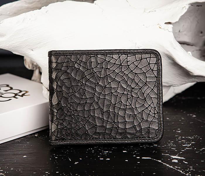 WL334-4 Классическое портмоне с монетницей из кожи «Onyx» фото 02