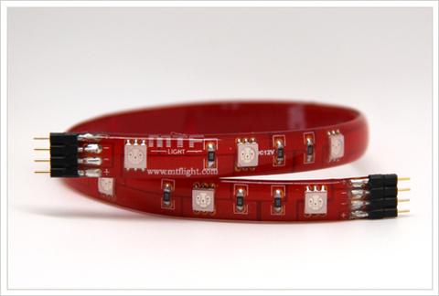 Гибкие светодиодные полосы MTF Light 3M2A125RR 30 см (красный)