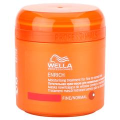 WELLA enrich line питательная крем-маска для нормальных и тонких волос 150мл.