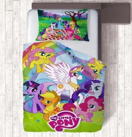 Мой маленький пони постельное белье детское