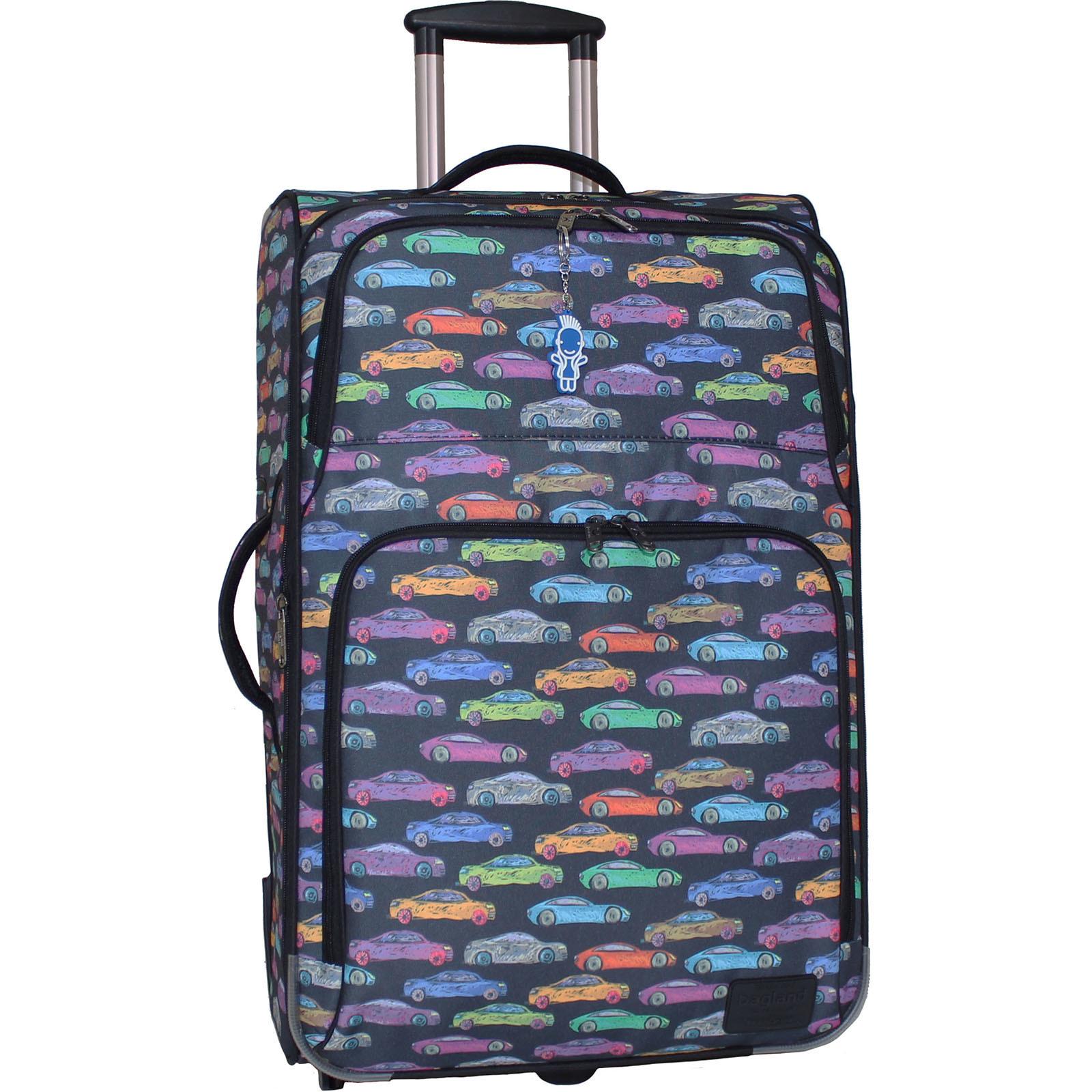 Дорожные чемоданы Чемодан Bagland Леон большой дизайн 70 л. сублімація 157 (0037666274) IMG_9911.JPG