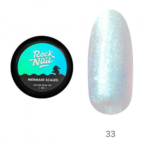 Гель-краска RockNail Mermaid Scales 33 Mermaid Aesthetic