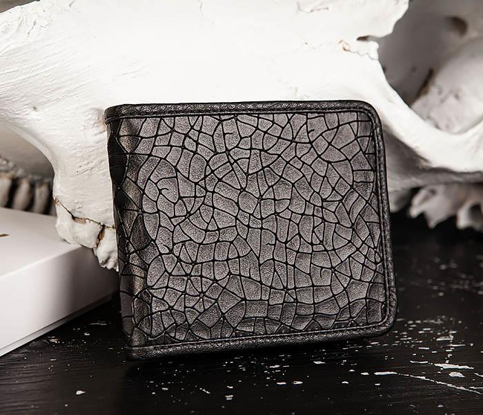 WL334-4 Классическое портмоне с монетницей из кожи «Onyx» фото 03