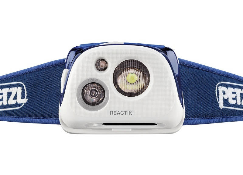 Налобный фонарь Petzl REACTIK Blue E92 HMI купить