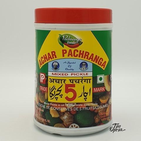 Пикули смесь овощей PACHRANGA, 800 гр