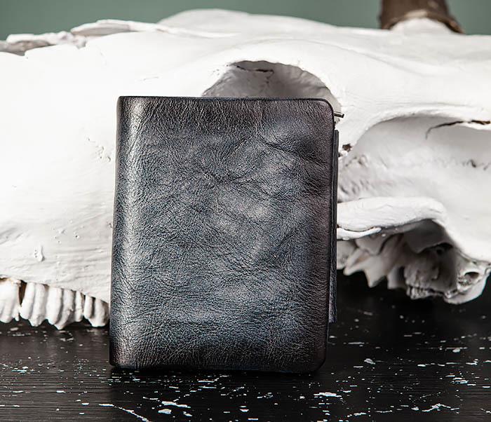 WL329-3 Мужское портмоне из натуральной кожи с монетницей