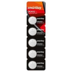 Батарейка литиевая Smartbuy CR2032