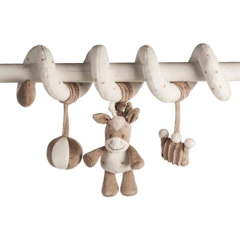 Мягкая игрушка Nattou Max, Noa & Tom Toy Spiral