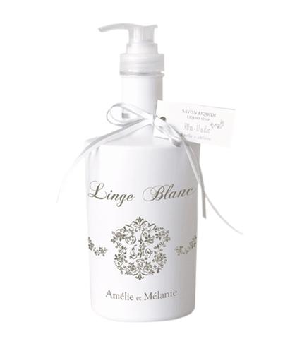 Жидкое ароматизированное мыло Белое белье, Amelie et Melanie