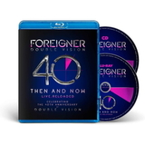 Foreigner / Double Vision - Then And Now (40th Anniversary Edition) (Blu-ray)