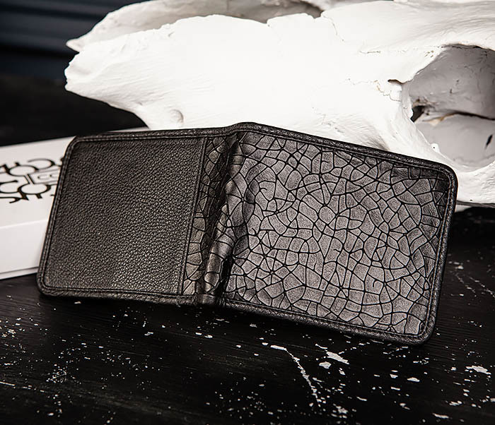 WL334-4 Классическое портмоне с монетницей из кожи «Onyx» фото 04