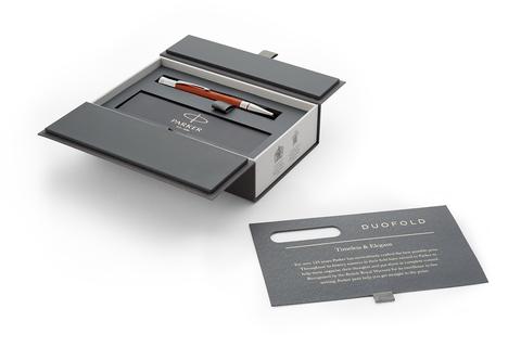 Шариковая ручка Parker Duofold Classic International, Big Red CT, MBlack123