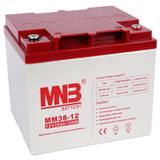 Аккумулятор для ИБП MNB MM 38-12 (12V 38Ah / 12В 38Ач) - фотография