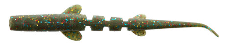 Слаги Lucky John UNAGI SLUG 3.0in (7,62 см), цвет F08, 7шт.