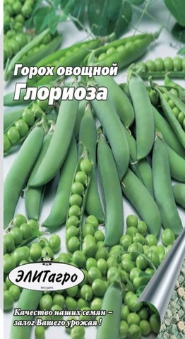 Семена Горох Глориоза