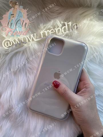 Чехол iPhone 11 Pro Silicone Case /antique white/ молочный 1:1