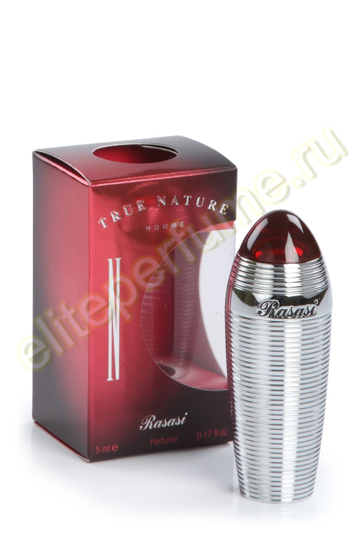 Истинна Сущность True Nature homme 5 мл арабские мужские масляные духи от Расаси Rasasi Perfumes